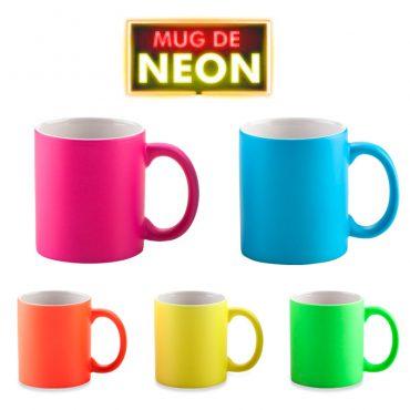 Mug Ceramica Neon...