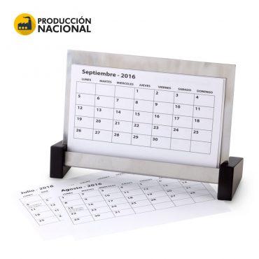 Calendario en Acero...