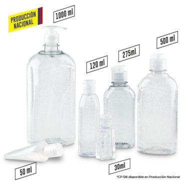Gel Antibacterial Transparente-Producción...